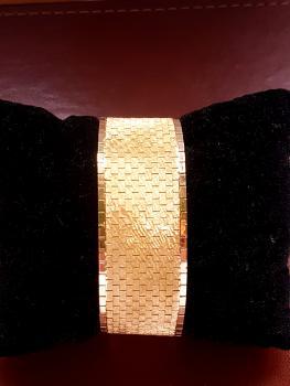 750 Gelbgold Armband in Handarbeit gefertigt